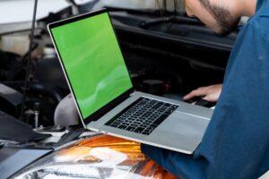 Laptop repair service engineer